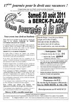 [20110820]-17e journée pour le droit aux vacances pour tous, voyage à Berck