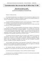 Commémoration des convois des 45 000 et des 31 000 - Allocution Pierre Labate - Compiègne, 7 juillet 2012