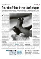 20121022-Libération-Désert médical, traversée à risque