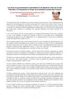 PLFSS 2013 : explication de vote du groupe CRC au Sénat - 15 novembre 2012