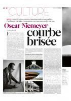 20121207-Libération-Oscar Niemeyer, courbe brisée