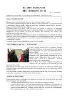Le lien fraternel des Vétérans du 60 - Janvier 2013