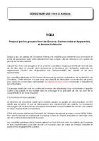 Vœu « Goodyear doit vivre à Amiens » proposé par les communistes et adopté - Conseil général de la Somme, 31 janvier 2013