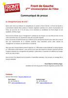 Pierre Ripart et Anthony Auger représenteront à nouveau le Front de gauche - 2 février 2013