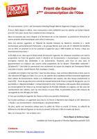 Communiqué de Pierre Ripart et Anthony Auger concernant la situation à Merck-Organon - Éragny-sur-Epte, 11 février 2013