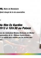 Projection-débat autour du film « Ez Kurdim »-Invitation - Montataire, 16 avril