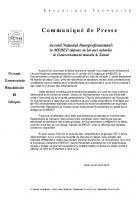 ANI : le gouvernement musèle le Sénat - Groupe CRC, 20 avril 2013