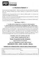 Tract de soutien au docteur Loïc Pen et aux personnels du GHPSO - Creil, 30 avril 2013