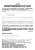Un appel d'élus isariens de toutes sensibilités politiques pour que soient levées les sanctions contre le Docteur Loïc Pen