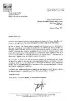 Lettre de Marie-George Buffet à la Ministre de la Santé concernant la situation de Loïc Pen - 23 mai 2013