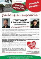 Tract « Beauvais aujourd'hui, Beauvais demain » - Beauvais, 18 juin 2013