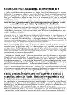 Manifestations « Clément Méric, ni oubli ni pardon »-Appel - France, 23 juin 2013