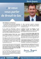 Présentation de la candidature de Denis Depuis aux Municipales 2014 - Breuil-le-Sec, 28 septembre 2013