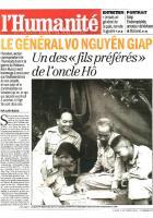 20131007-L'Huma-Le général Vo Nguyên Giap