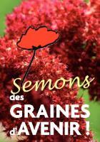 Carte de vœux « Semons des graines d'avenir » de la liste « l'humain d'abord » - Beauvais, décembre 2013