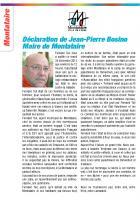 Déclaration de Jean-Pierre Bosino suite à la disparition de Fernand Tuil