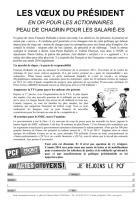 Tract de campagne « 3e liste à Béthisy » - Béthisy-Saint-Pierre, 20 janvier 2014
