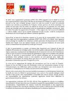 Communiqué de l'intersyndicale CGT-FO-FSU-Solidaires Oise pour la journée d'action du 18 mars 2014