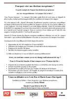 Tract « Pourquoi voter aux Européennes ? Exemple du transport ferroviaire » - Crépy-en-Valois, 12 mai 2014