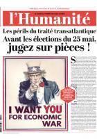 20140514-L'Humanité-Les périls du traité transatlantique