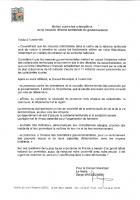 Motion contre les orientations de la nouvelle réforme territoriale du gouvernement - Conseil municipal de Saint-Maximin, 4 juillet 2014