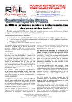 8 septembre, Amiens - Rassemblement concernant la ligne SNCF Paris-Beauvais-CP-Convergence national rail
