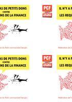 Souscription « Les étrennes de l'espoir » - PCF Oise, décembre 2014