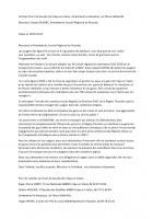 Courrier au président du Conseil régional concernant les lignes Paris-Laon et K - Front de gauche du Valois, 16 janvier 2015