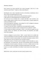 Hommage à notre camarade, Laurent Parent-Texte de Jean-Michel Robert - Saint-Maximin, 19 février 2015