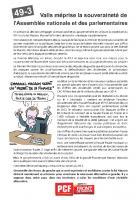 Tract « La loi Macron doit être retirée » - PCF Oise, 5 mars 2015