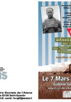 IHS CGT & Mémoire Vive-Rencontre-débat «Les convois des 45000 et des 31000, des résistants à Auschwitz et les 19 de l'Aisne »-Programme - Hirson, 7 mars