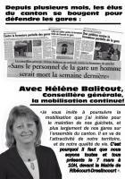 Tract « Mobilisation contre la fermeture des guichets SNCF de Ribécourt et Thourotte » - 7 mars 2015