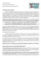 3 avril, Montataire - Attac Oise-Conférence-débat sur les enjeux du TAFTA, en direction des collectivités territoriales