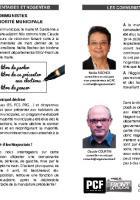 Tract « Où le maire mène-t-il les Nogentais ? » - Cellule PCF de Nogent-sur-Oise, 10 avril 2015
