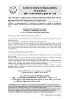 25 juin, Creil - Solidarité sans papiers-Cercle de Silence-Tract