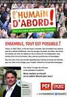 Tract de campagne du PCF « Ensemble, tout est possible » - Élection régionale Nord-Pas-de-Calais-Picardie, 27 août 2015