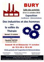 10 & 11 octobre, Bury - Conférence-débat et exposition « Des industries et des hommes dans la vallée du Thérain »