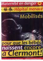 Tract du Comité de défense et de développement des hôpitaux publics du Clermontois - Clermont, 15 octobre 2015