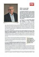 Lettre de Pierre Laurent aux adhérent-e-s - Novembre 2015