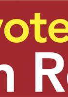 Bandeau de campagne de la liste Front de gauche l'Humain d'abord - Élection régionale Nord-Pas-de-Calais-Picardie, novembre 2015