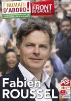 Affiche officielle de la liste Front de gauche l'Humain d'abord - Élection régionale Nord-Pas-de-Calais-Picardie, 25 novembre 2015
