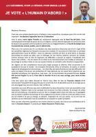 Appel de Denis Dupuis « Je vote l'Humain d'abord ! » - 1er décembre 2015