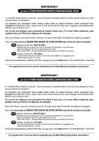 Souscription « Indispensable : 50 000 € pour financer notre campagne dans l'Oise » - 9 décembre 2015