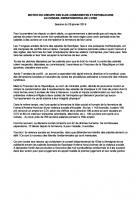 Motion « Goodyear » - Conseil départemental de l'Oise, 28 janvier 2016