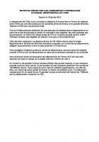 Motion « RSA » - Conseil départemental de l'Oise, 28 janvier 2016