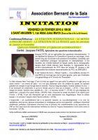 26 février, Conférence-débat « Situation internationale, situation de la France : quelles perspectives et quelles alternatives ? »-Invitation - Saint-Maximin, 26 février 2016