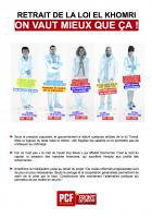 4 pages « Retrait de la loi El Khomri - On vaut mieux que ça » - PCF Oise, 31 mars 2016