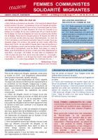 Tract « Nous, femmes communistes de l'Oise » - Collectif Femmes Communistes Solidarité Migrantes, 29 avril 2016