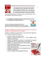 Tract « Une mobilisation toujours plus forte ! Pour gagner le retrait de la loi Travail et de nouveaux droits pour les salariés » - CGT Oise, 20 juin 2016
