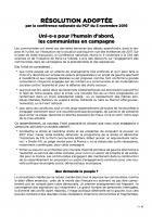 Résolution adoptée par la Conférence nationale du PCF du 5 novembre 2016
